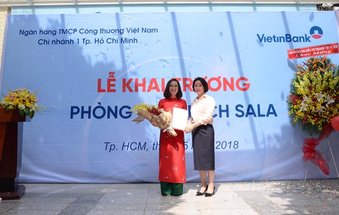 Kết quả hình ảnh cho khai trương Chi nhánh Sala tại Quận 2 của Ngân hàng Thương mại cổ phần Công thương Việt Nam (VietinBank).
