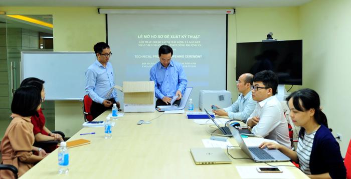Lễ mở thầu Dịch vụ Khảo sát hài lòng và gắn kết nhân viên VietinBank 2018 -  VietinBank